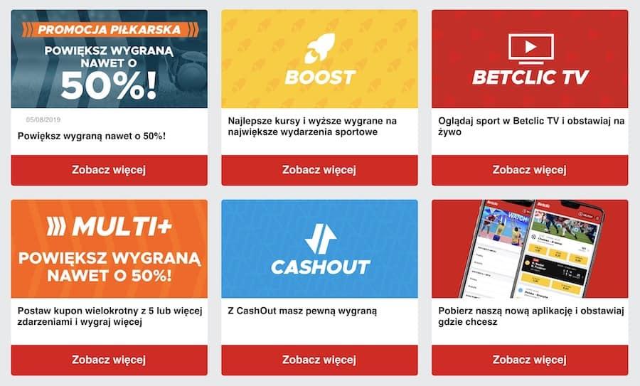 betclic polska kod promocyjny na bonus