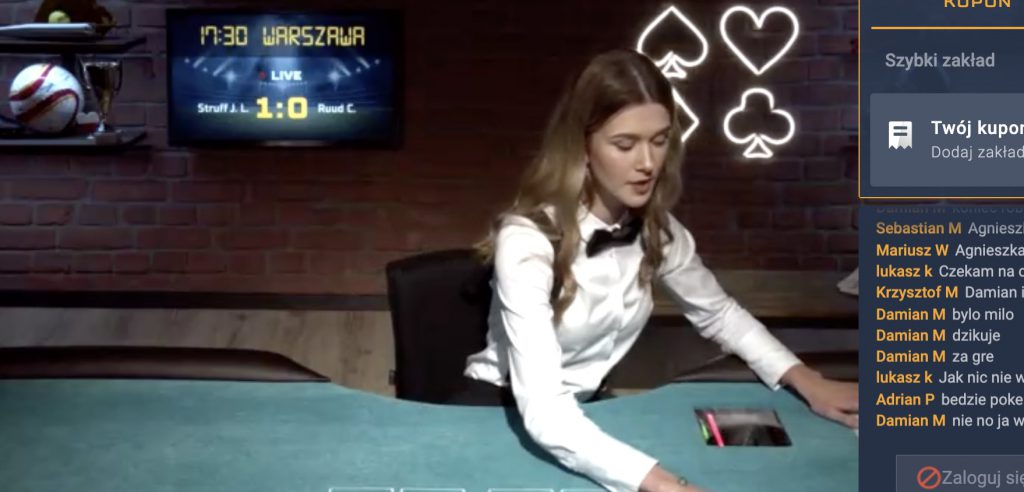 Poker online po polsku - Texas Holdem w STS Betgames