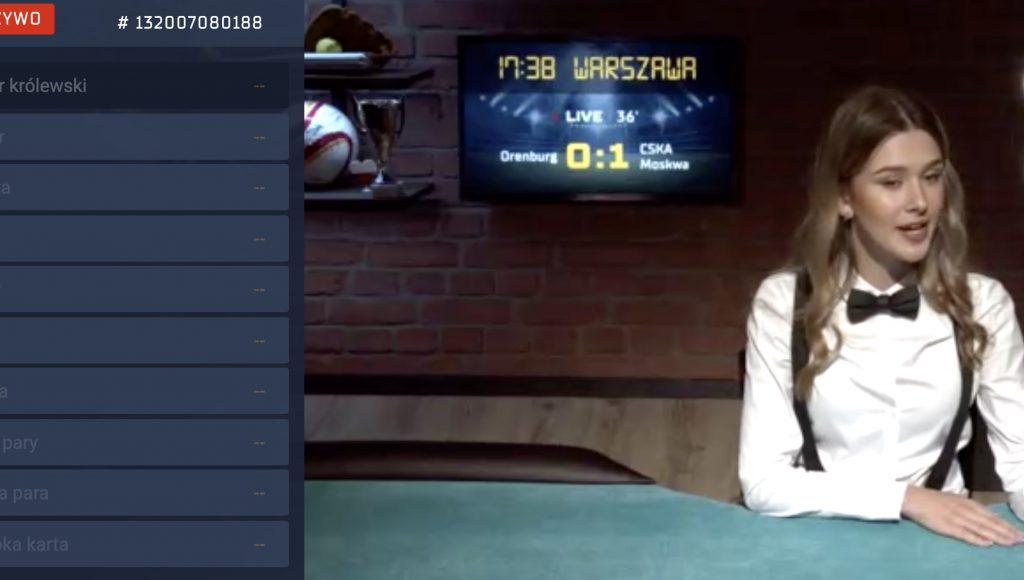 Poker przez internet w Betgames STS
