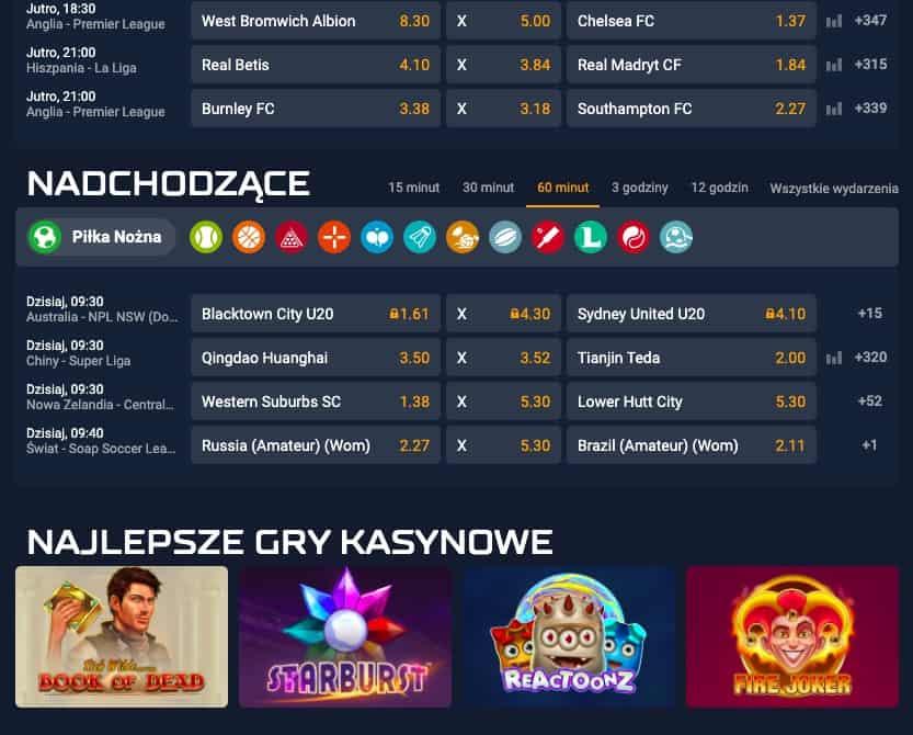 STS gry kasynowe