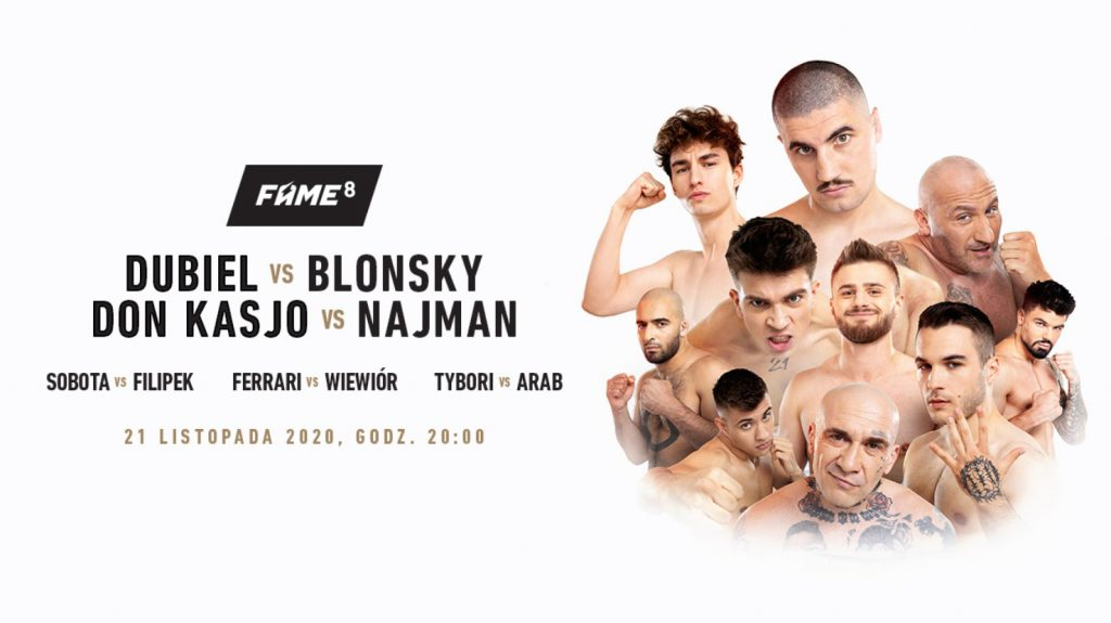 Transmisja Fame MMA 8. Jak obejrzeć za darmo, jak wykupić PPV?