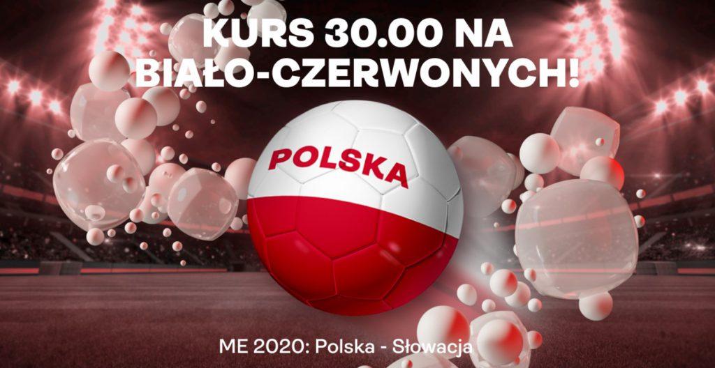 Kurs na Polskę ze Słowacją to aż 30.00 w Superbet!